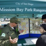 Mission Bay Park Rangers teach the public about the bay's natural resources. Photo by San Diego EarthWorks.