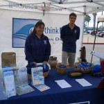 Representatives from Think Blue San Diego teach the public about stormwater pollution. Photo by San Diego EarthWorks.