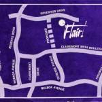 Flair Development Sales Map
